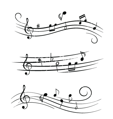 380x400 17 Music Note Vector Free Download Images