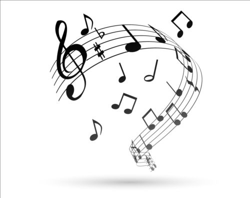 500x396 Music Notes Design Elements Set Vector 10 Free Download