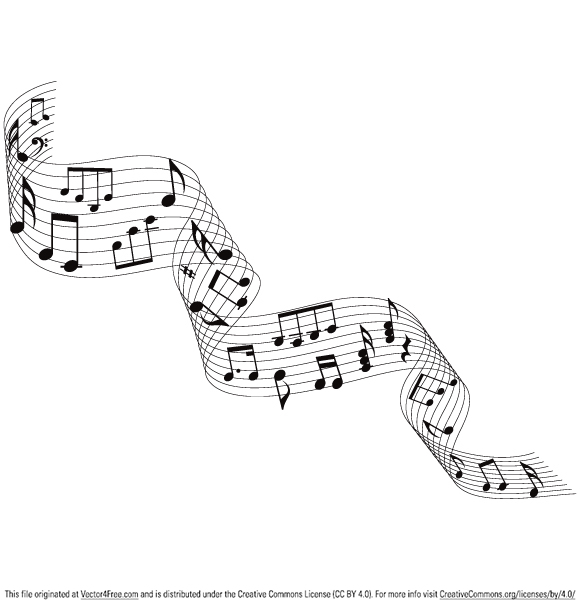 580x608 Musical Notes