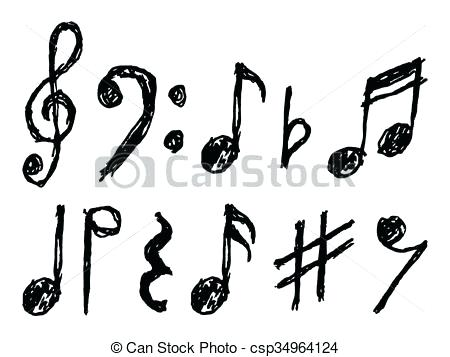 450x357 Music Note Vectors Anjie