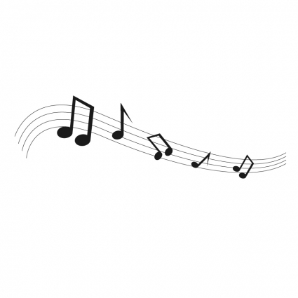 425x425 Black Music Notes Vector Free Vector Download In .ai, .eps, .svg