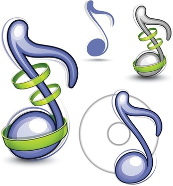 343x368 Free Vector Music Notes Free Vector Download (3,444 Free Vector