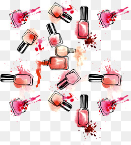 260x287 Most Nail Polish Vectors