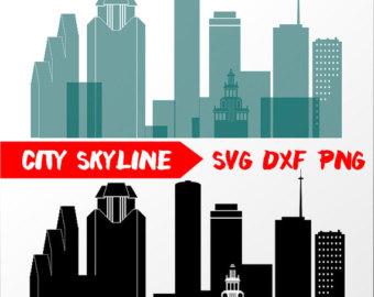 340x270 Nashville Vector Skyline Nashville Svg Silhouette Svg Dxf Etsy