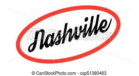 450x246 Nashville Rubber Stamp. Grunge Design With Dust Scratches.... Clip