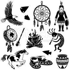 236x236 23 Best Vector Native American Stock Illustration Images On