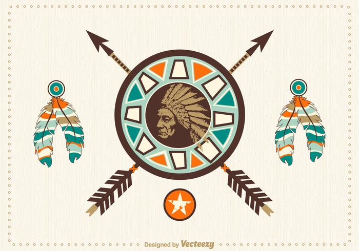 700x490 Native American Free Vector Art