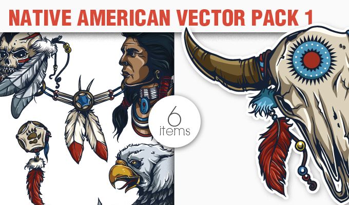 680x400 Native American Vector Pack 1