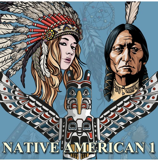 550x560 Native American Vectors