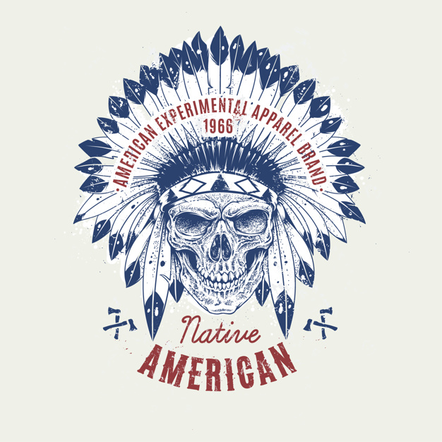 626x626 Native American Background Vector Premium Download