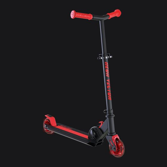 560x560 Neon Vector Light Up Kids Scooter Red We Are Neon