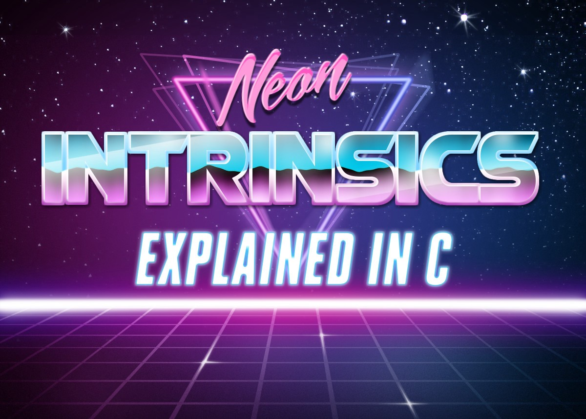 1200x859 Arm Neon Intrinsics Add Functions (Explained With C)
