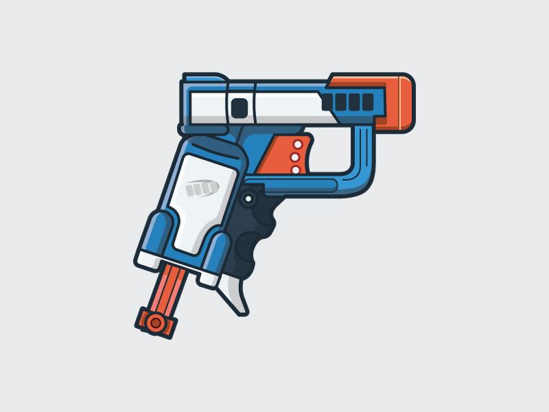 800x600 Nerf Gun By Matt Kohn
