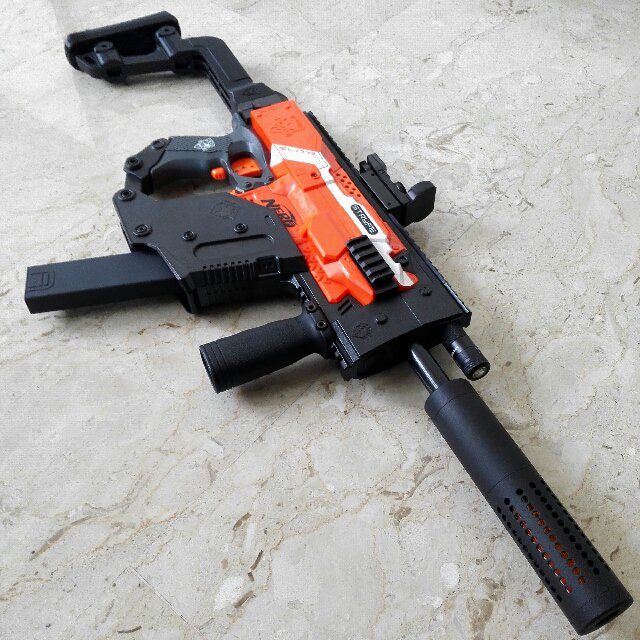 640x640 Nerf Stryfe With Kriss Vector Kit, Toys Amp Games, Bricks