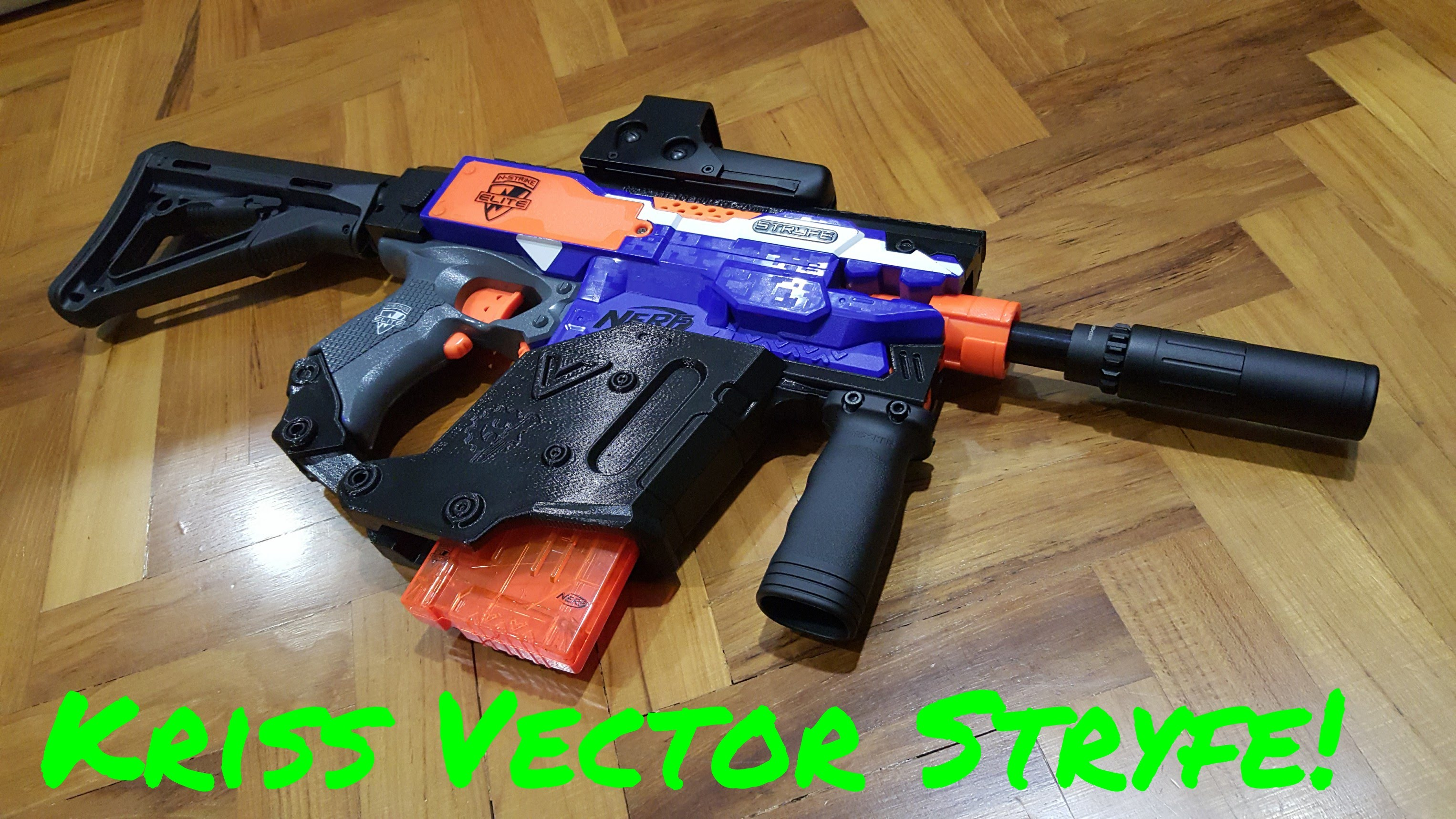 3052x1717 Review} Nerf Kriss Vector Stryfe