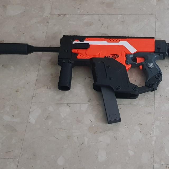640x640 Kriss Vector Stryfe Nerf Gun, Toys Amp Games, Bricks Amp Figurines On