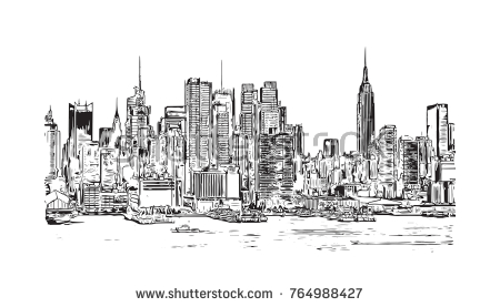 450x277 Nyc Skyline Drawing 19 Elegant 20 Best New York Skyline Vector