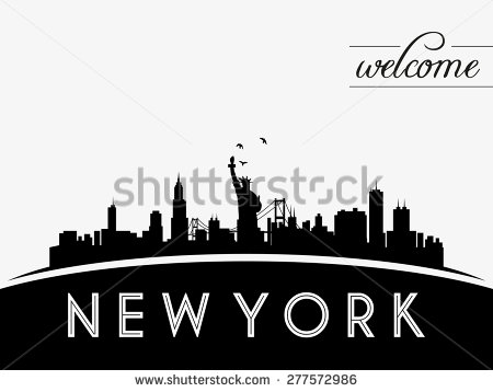 450x358 Nyc Skyline Vector Free Nyc Skyline Download Free Vector Art Stock