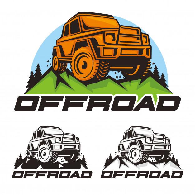 626x626 Offroad Car Logo Vector Vector Premium Download