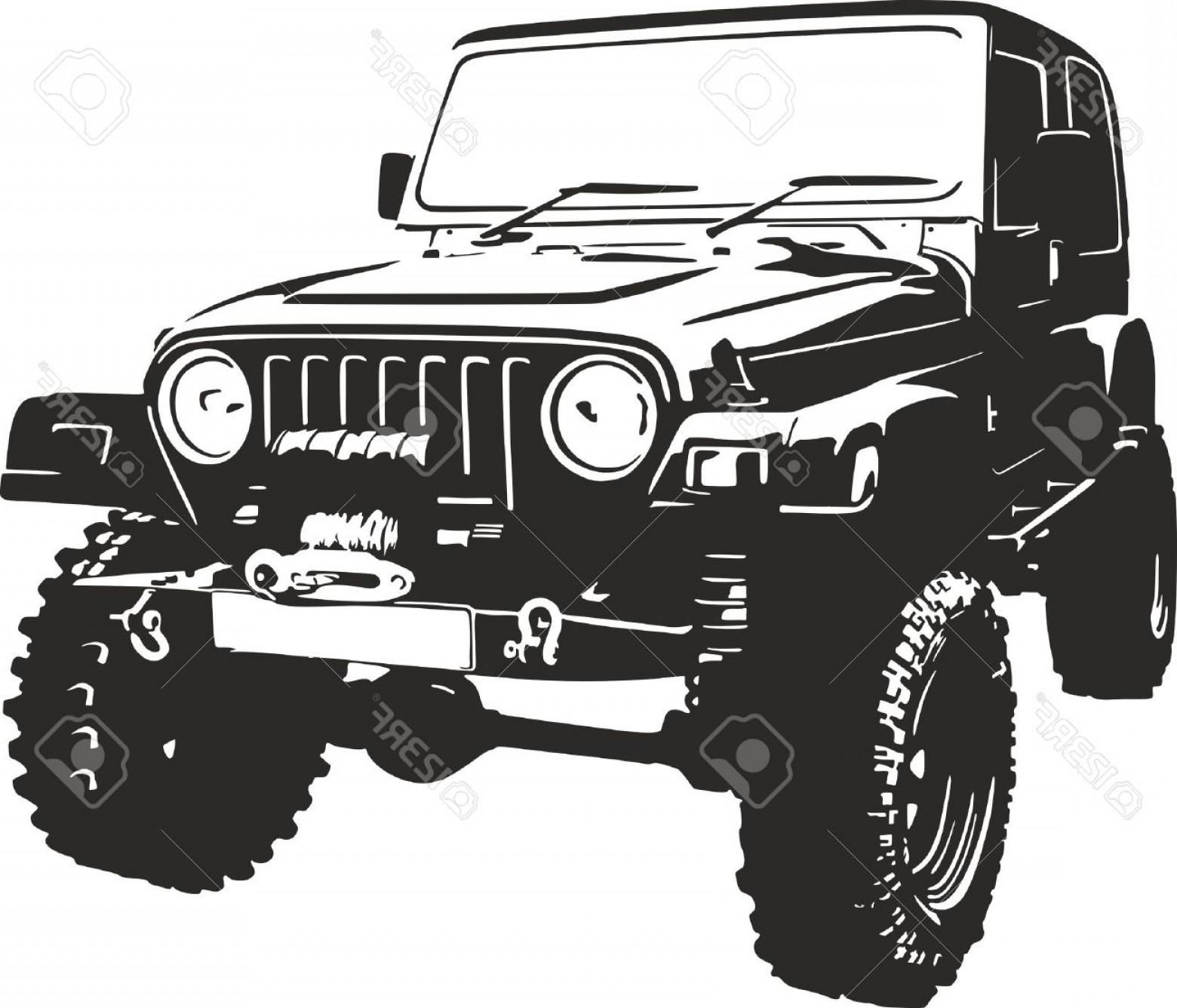 1560x1336 Photostock Vector Offroad Vehicle In Black Color Geekchicpro