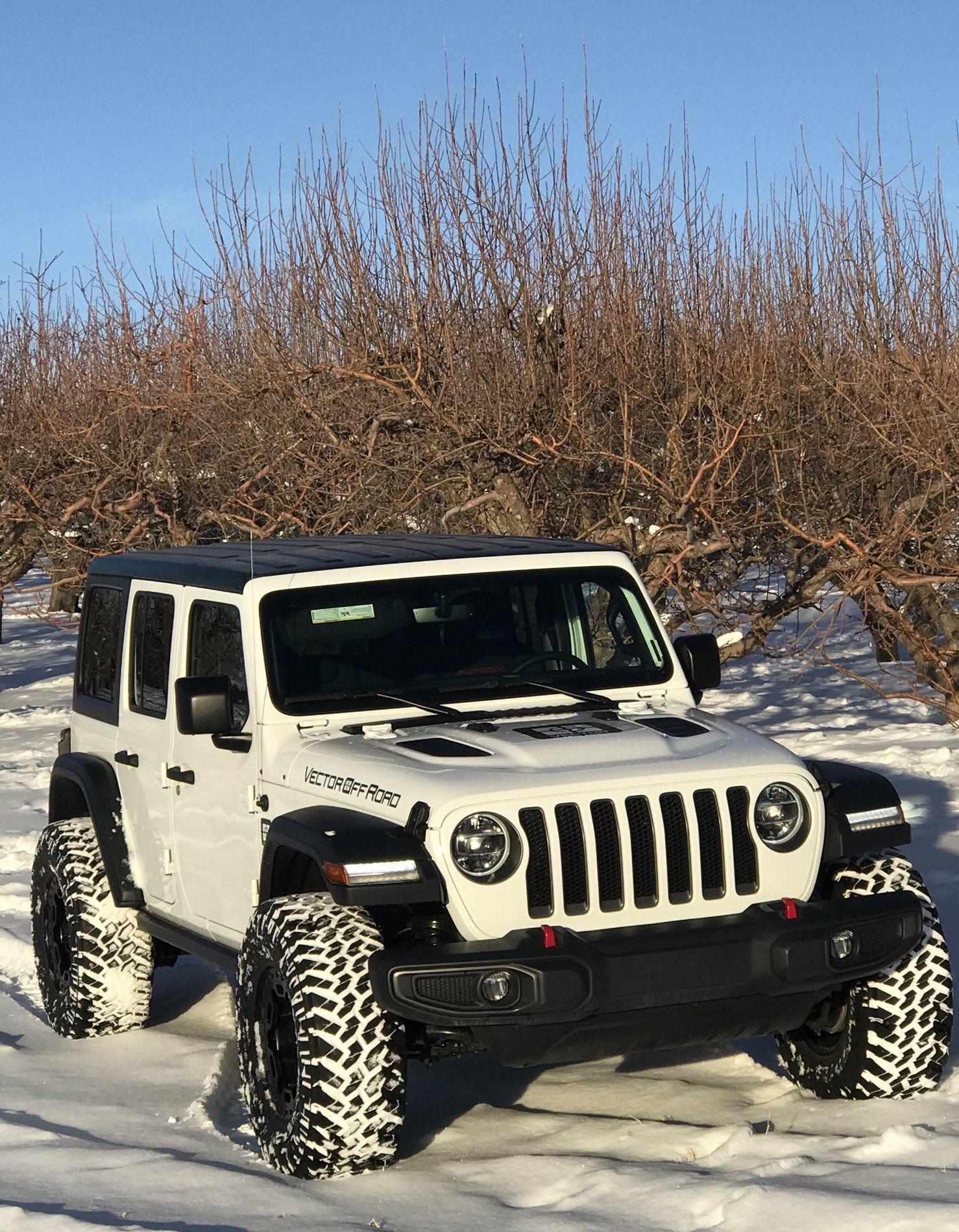 1478x1900 Vector Offroad 2018 Jlu Bright White Build