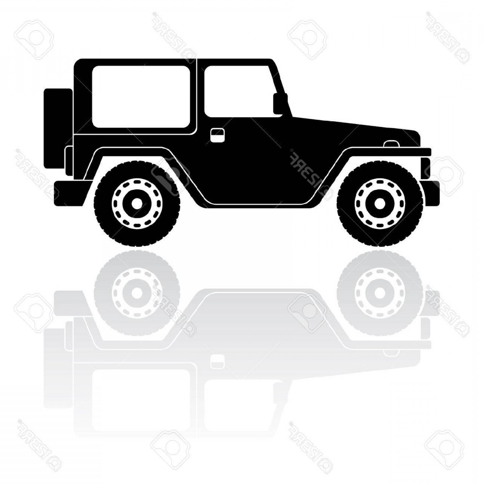 1560x1560 Jeep Off Road Vector Art Rongholland