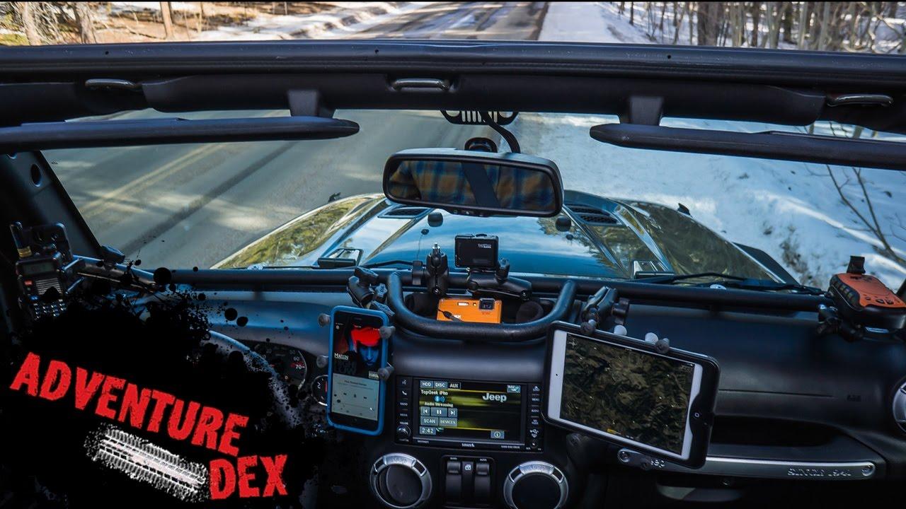 1280x720 Jeep Wrangler Dash Mount!!