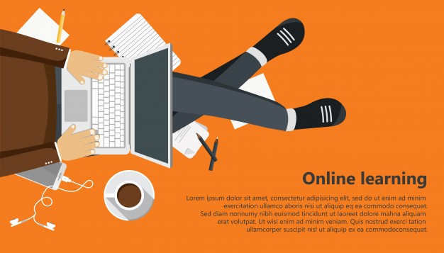 626x357 Online Learning Vector Free Download