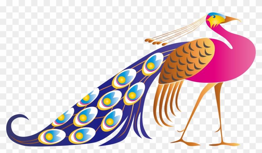 840x492 Cute Peacock Clip Art Vector Open Stock Creativemons