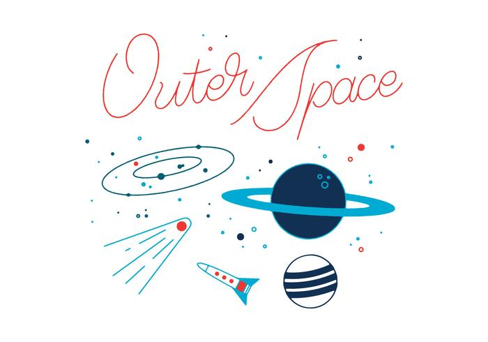 700x490 Free Outer Space Vector