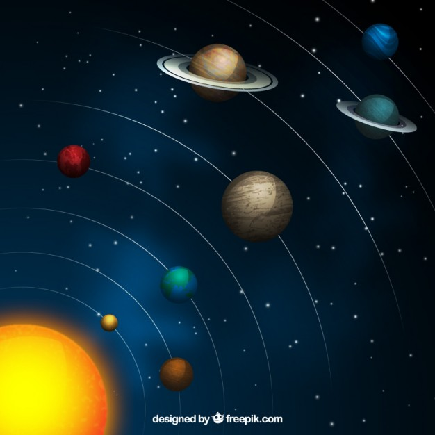 626x626 Outer Space Vector Free Download