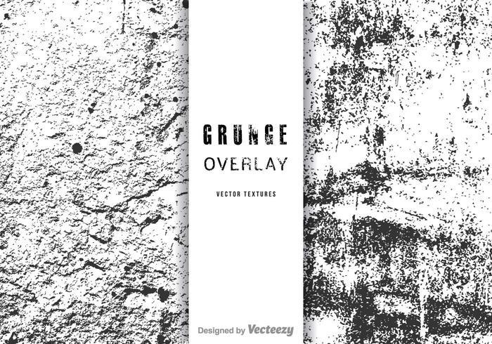 700x490 Free Grunge Overlay Vector Set