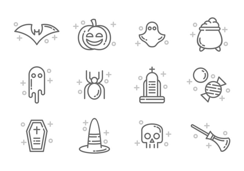800x560 Vector Overlay Halloween ~ Frames ~ Illustrations ~ Hd Images