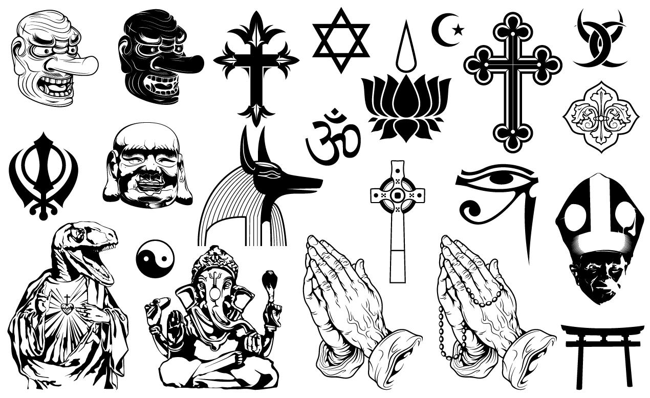 1270x778 Religious Vector Pack For Adobe Illustrator