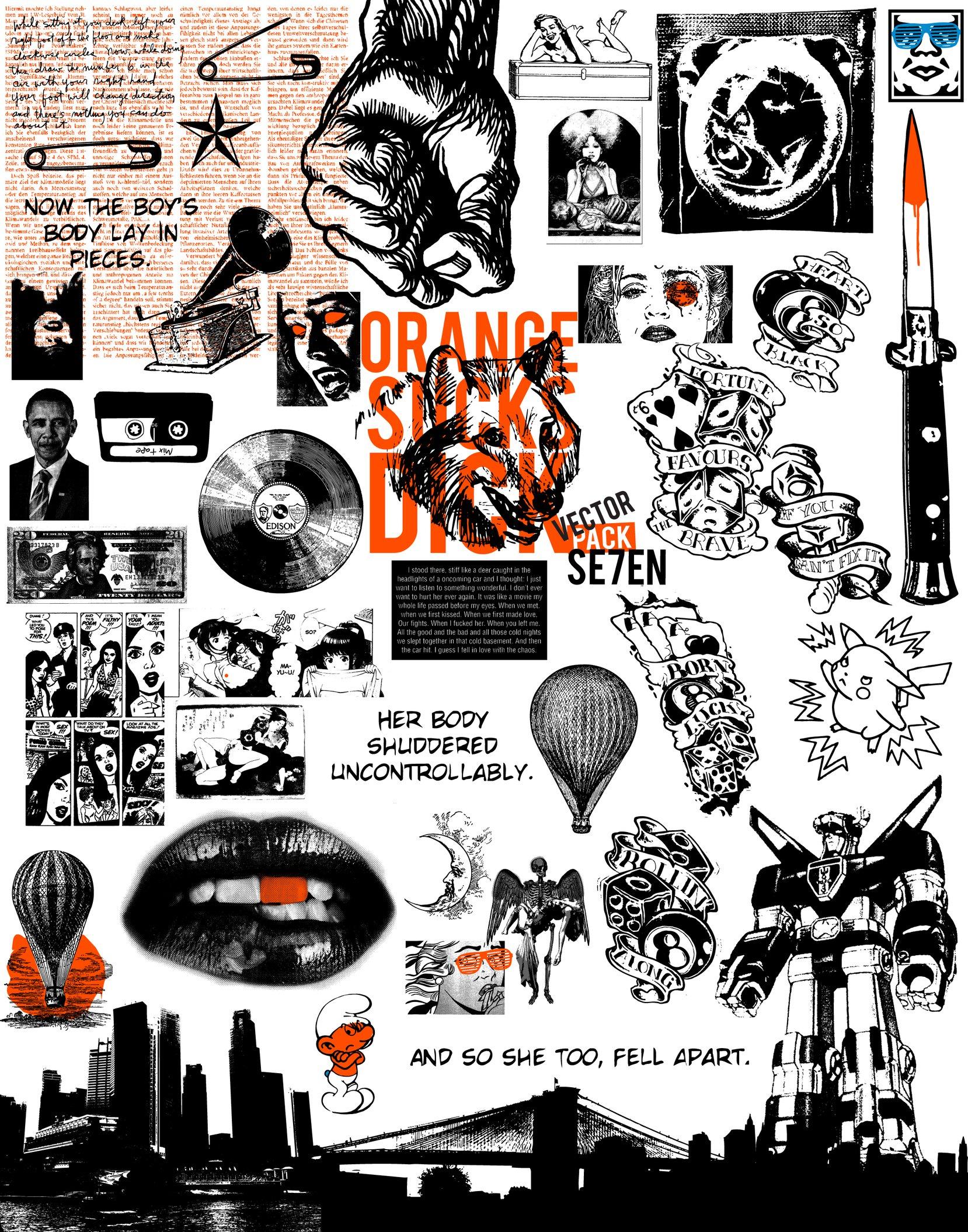 1658x2110 Vector Pack Se7en By Jonny Doomsday