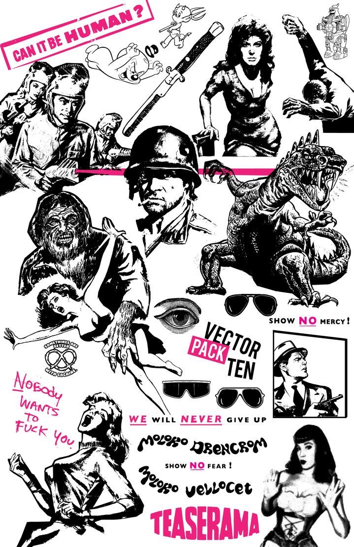 719x1111 Vector Pack Ten By Jonny Doomsday