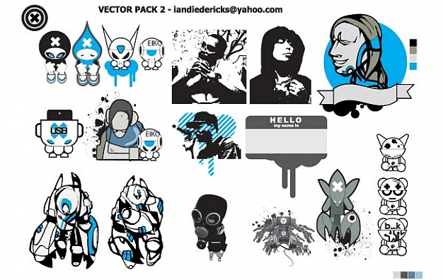 626x396 Eiko Vector Pack 2 Vector Free Download