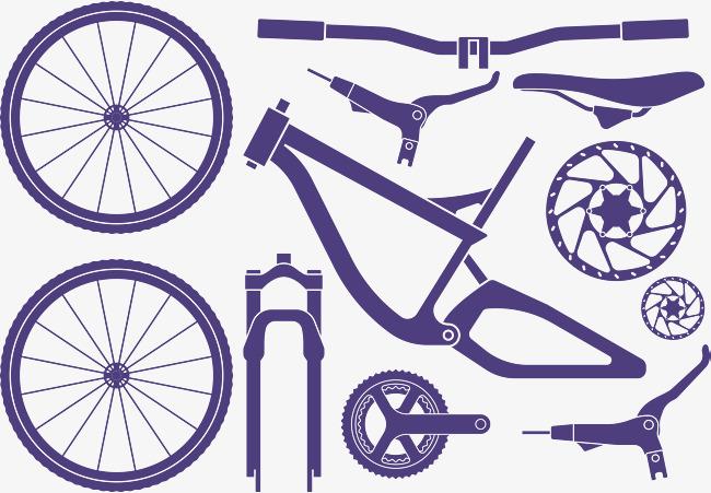 650x451 Cartoon Vector Bike Parts, Cartoon Vector, Bike Vector, Bike Hand