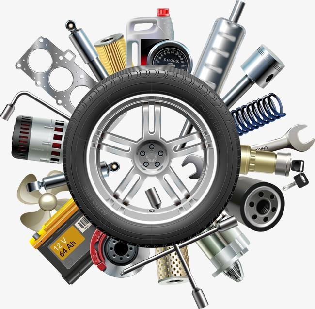 650x637 Vector Car Parts, Car Clipart, Car Parts, Car Accessories Png And
