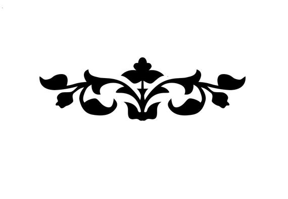 570x395 Flower Format .dxf .svg .pdf Flower Cnc Cut File Vector Art Etsy