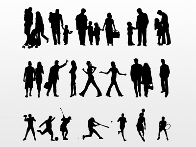400x300 Free Vector People Collection Clipart And Vector Graphics
