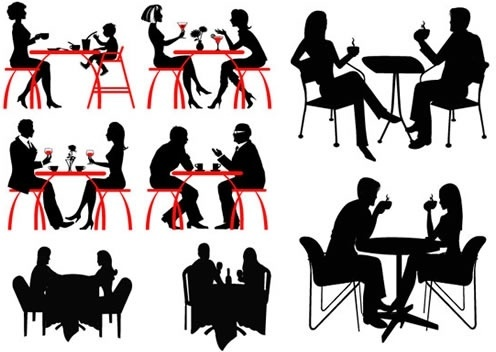 496x352 Free Vector People Silhouettes Free Vector Download (10,900 Free