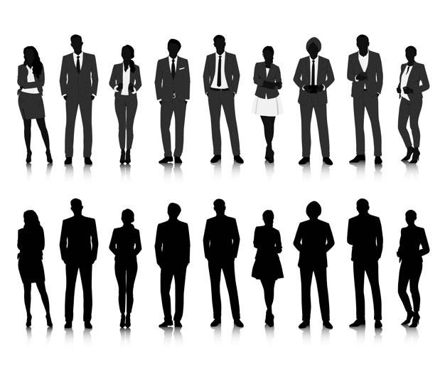 626x537 Silhouettes Vectors, +32,400 Free Files In .ai, .eps Format