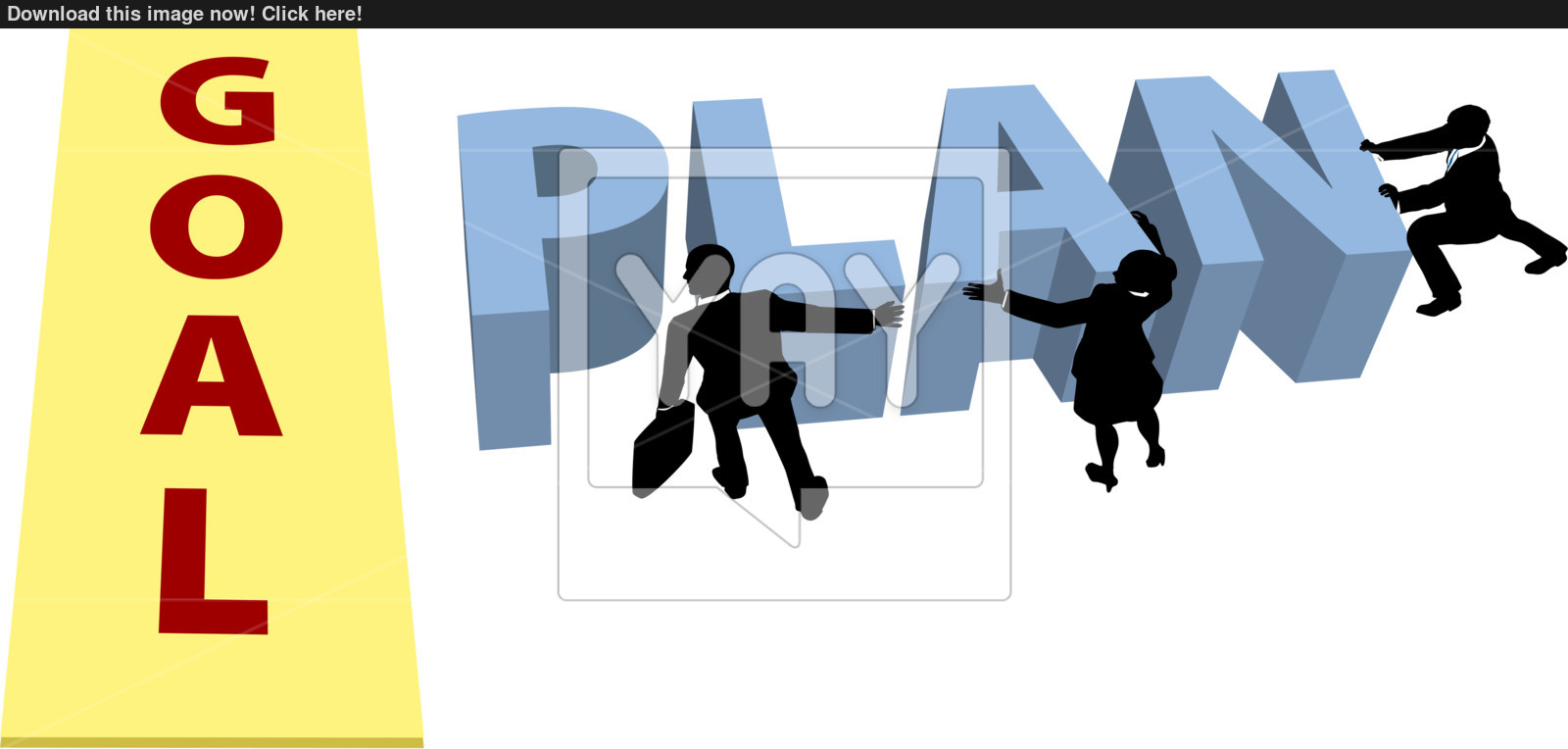 1600x764 People Silhouettes Advance Business Plan Forward Vector