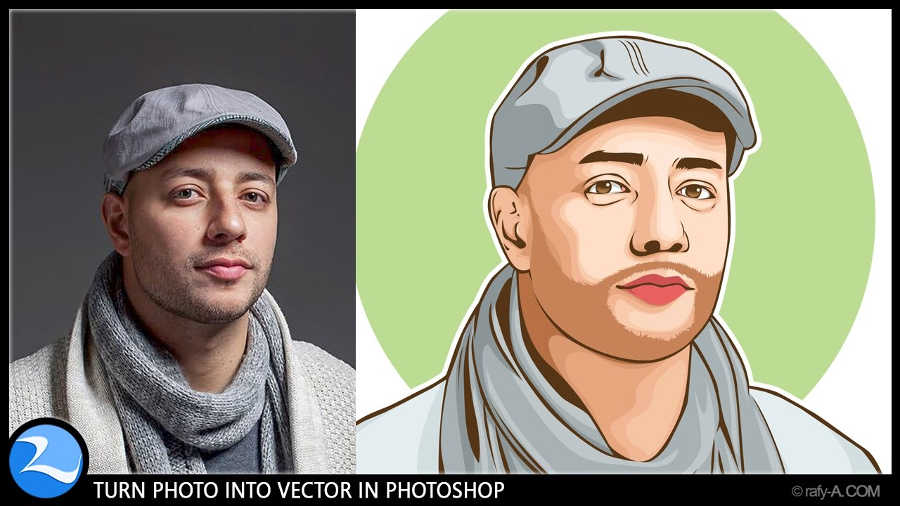 1280x720 How To Turn Photo Into Vector In Photoshop