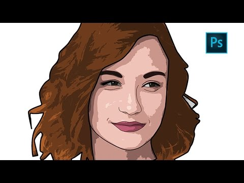480x360 Photoshop How To Create Cartoon Effect Vector Art (Easy Trick