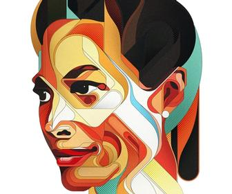 336x280 Photoshop Tutorial Create Vector Portraits In Photoshop