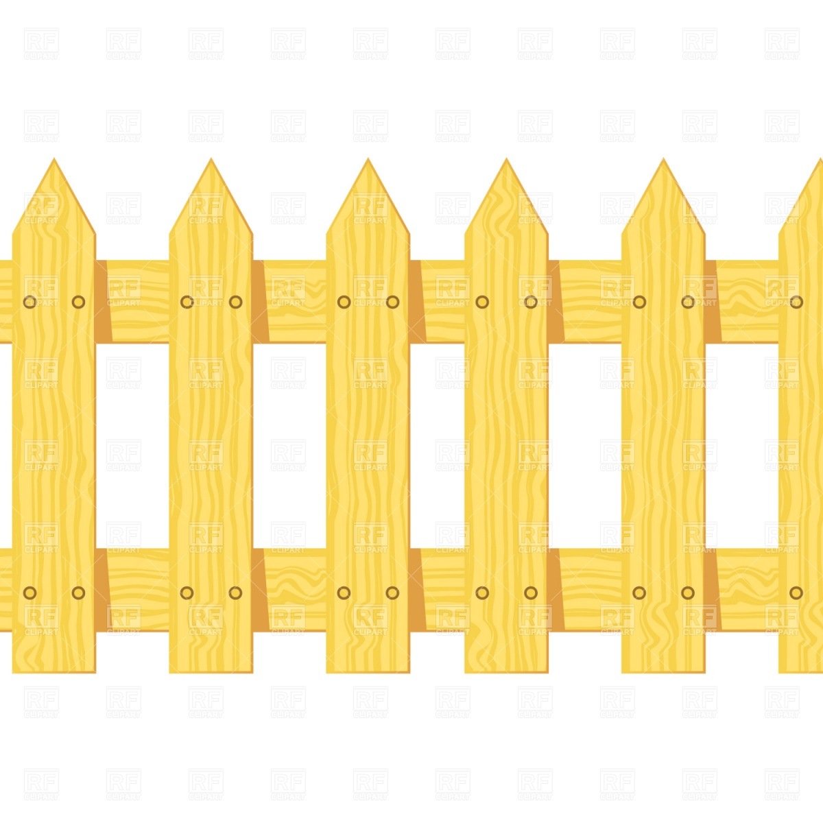 1200x1200 Wooden Fence Vector Image Vector Artwork Of Objects Prague