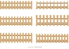 285x200 Wooden Picket Fence Free Vector Graphic Art Free Download (Found