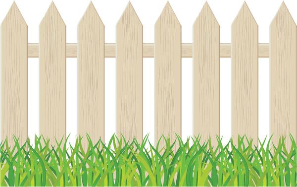 600x377 Cartoon Clip Art Fence Free Vector 4vector